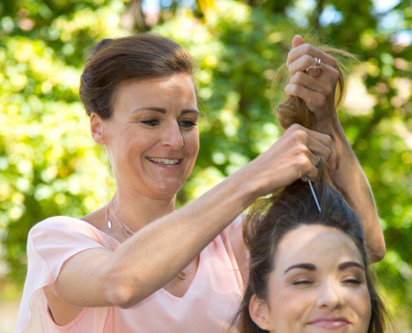 Lust auf einen neuen Look durch ein professionelles Hairstyling.